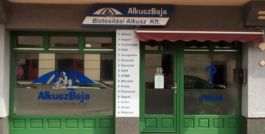 Baja - Dózsa Jenő iroda