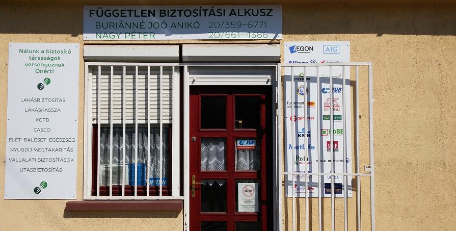 Dunavecse - Buriánné Joó Anikó, Nagy Péter iroda