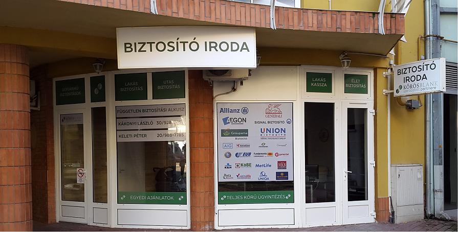 Kalocsa - Kákonyi László, Keleti Péter iroda